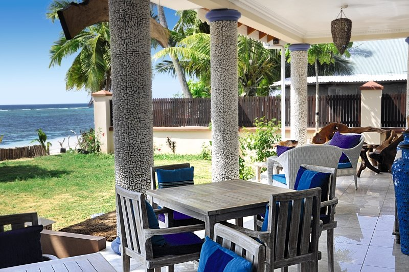 Le Relax Beach HouseTerasse