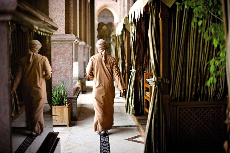 Emirates Palace Abu DhabiPersonen