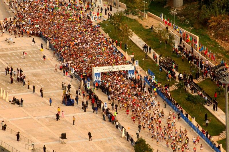 Sportevent - Nicht nur für Marathonläufer - Am 11.11.2018 in Athen!