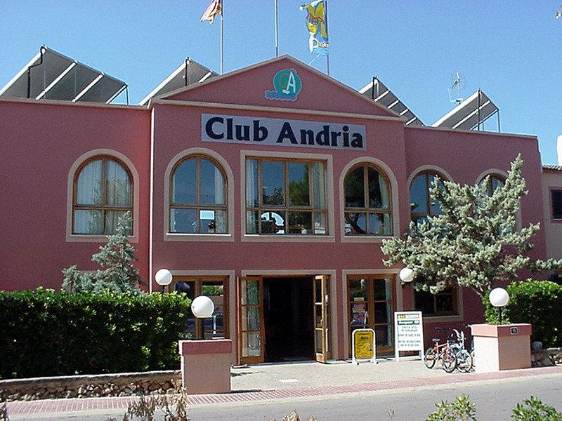 Aparthotel Club Andria in Cala Santandría, Menorca A