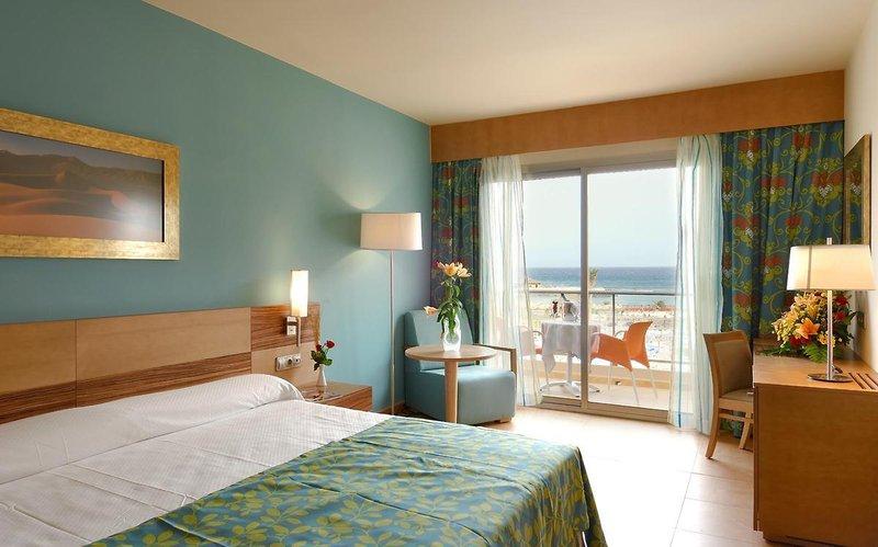 Elba Carlota Beach und Convention Resort in Caleta de Fuste, Fuerteventura W
