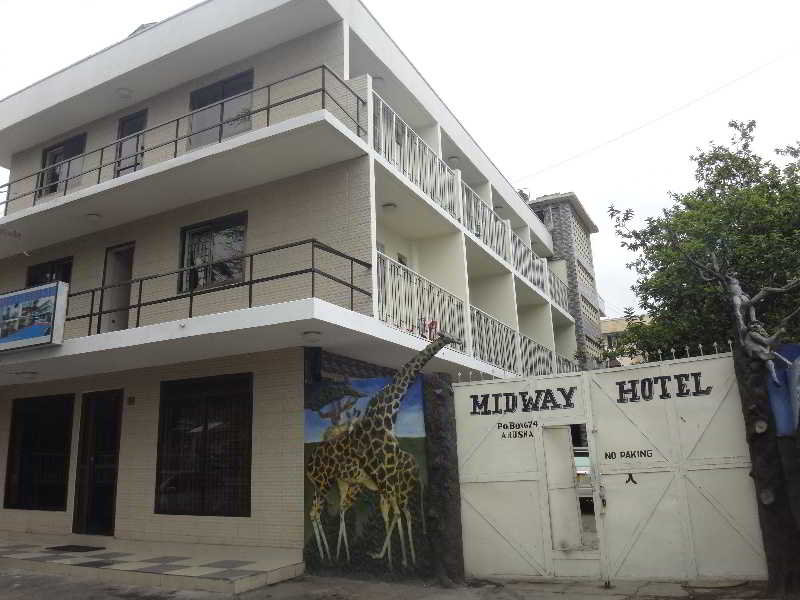 Midway Hotel in Arusha-Nationalpark, Tansania - Nationalparks A