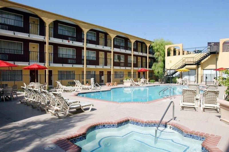 Mardi Gras Hotel und Casino in Las Vegas, Nevada P