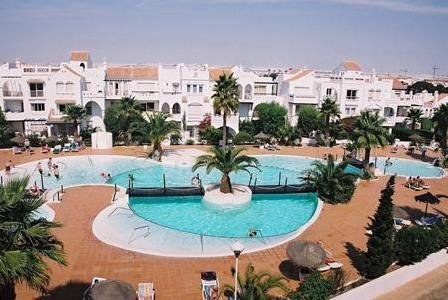 Apartamentos Golf Center Pueblo in Roquetas de Mar, Costa de Almería P