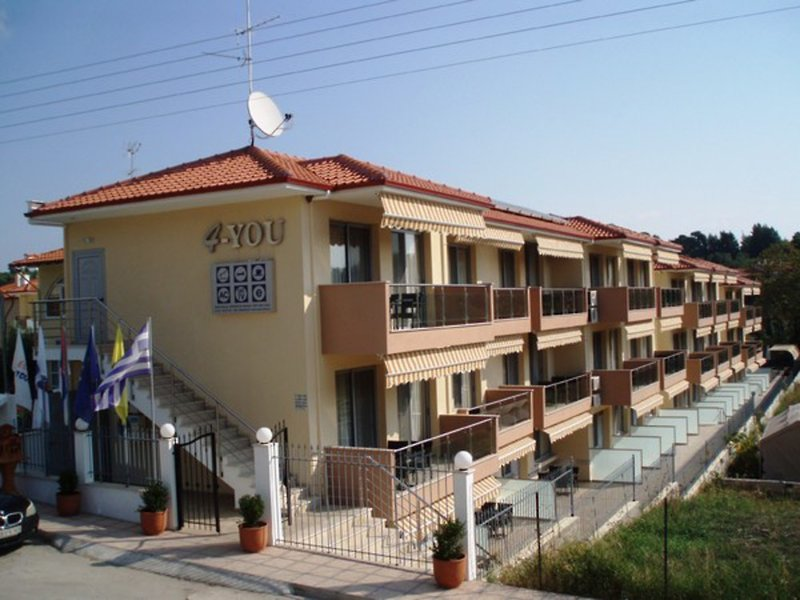 Appartements 4you in Metamorfosi, Chalkidiki A