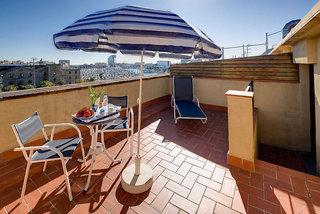 Hotel Del Mar Barcelona Terasse