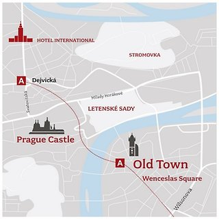 Hotel International Prague Landschaft