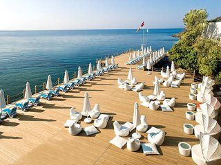 Hotel Paloma Pasha Resort Terasse
