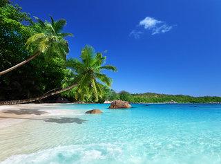 Hotel Le Relax Beach Praslin Landschaft