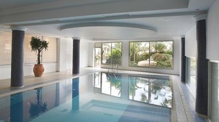 Hotel Aquamare Beach Hotel & Spa Hallenbad