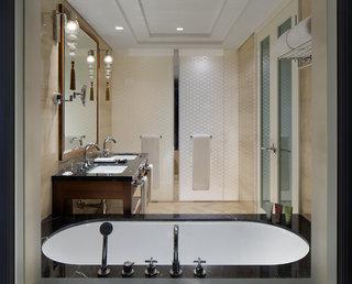 Hotel Taj Dubai Badezimmer