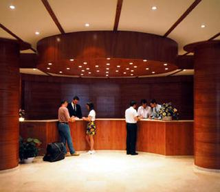 Hotel Gran Garbi Lounge/Empfang