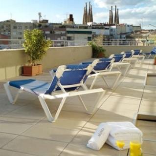 Hotel Aranea Barcelona Terasse