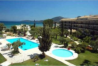 Hotel Delfinia Hotels Corfu Luftaufnahme