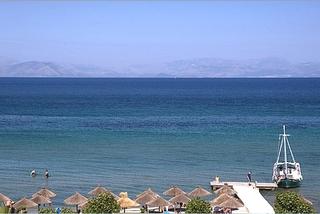 Hotel Delfinia Hotels Corfu Meer/Hafen/Schiff