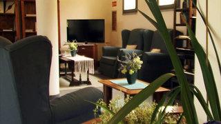 Hotel Pausania Inn Lounge/Empfang