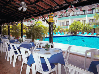 Hotel Cancun Bay Resort Terasse