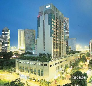 Hotel Amara Singapore Außenaufnahme