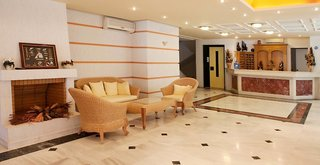 Hotel Dedalos Beach Lounge/Empfang