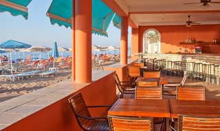 Hotel Dedalos Beach Terasse