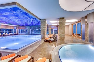 Hotel Sherwood Exclusive Lara Hallenbad