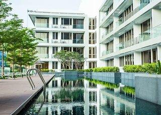 Hotel Dorsett Singapore Außenaufnahme