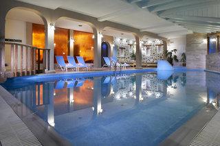 Hotel Acrotel Athena Pallas Village Hallenbad