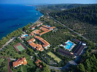 Hotel Acrotel Athena Pallas Village Luftaufnahme