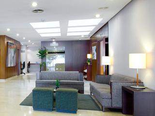 Hotel NH Ciudad de Valencia Lounge/Empfang