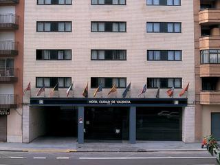 Hotel NH Ciudad de Valencia Außenaufnahme