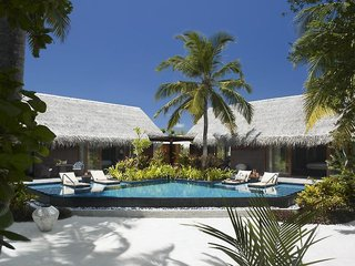 Hotel Shangri La´s Villingili Resort & Spa Pool