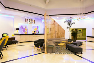 Hotel BM Beach Resort Lounge/Empfang