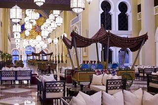 Hotel Mövenpick Ibn Battuta Gate Hotel Dubai Lounge/Empfang
