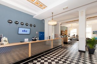 Hotel a&o Leipzig Hauptbahnhof Lounge/Empfang