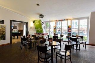 Hotel a&o Berlin Friedrichshain Lounge/Empfang