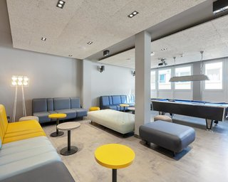 Hotel a&o Frankfurt Galluswarte Hotel & Hostel Lounge/Empfang