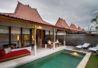 Hotel Alam Bidadari Seminyak Villas Außenaufnahme