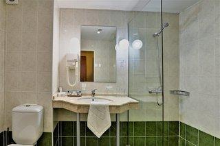 Hotel MiRaBelle Badezimmer