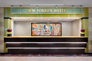 Hotel The New Yorker A Wyndham Hotel Lounge/Empfang