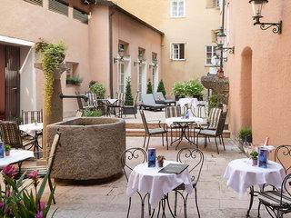 Hotel Radisson Blu Hotel Altstadt Salzburg Terasse