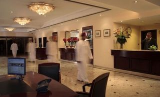Hotel Crowne Plaza Muscat Lounge/Empfang