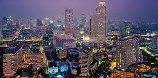 Hotel The Peninsula Bangkok Stadtansicht