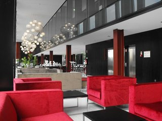 Hotel Axis Viana & Spa Lounge/Empfang