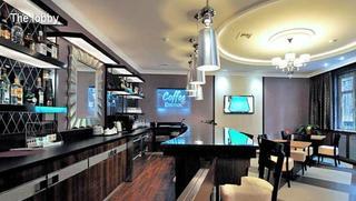 Hotel Carlton Budapest Lounge/Empfang