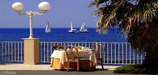Hotel Dioscuri Bay Palace Terasse