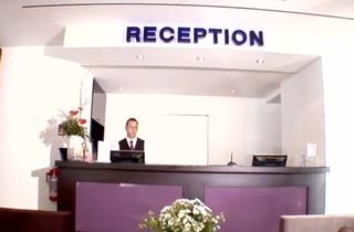 Hotel Max Brown Ku´Damm Lounge/Empfang