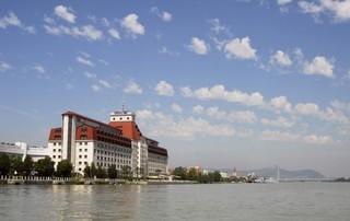 Hotel Hilton Vienna Danube Waterfront Außenaufnahme