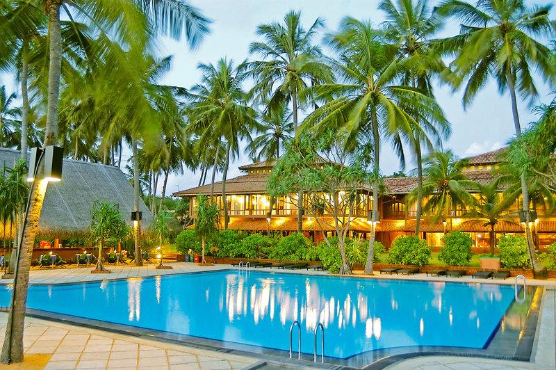 3 Sterne Ranweli Holiday Village auf Sri Lanka