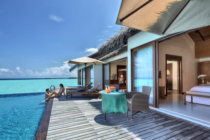 The Residence Maldives Terrasse