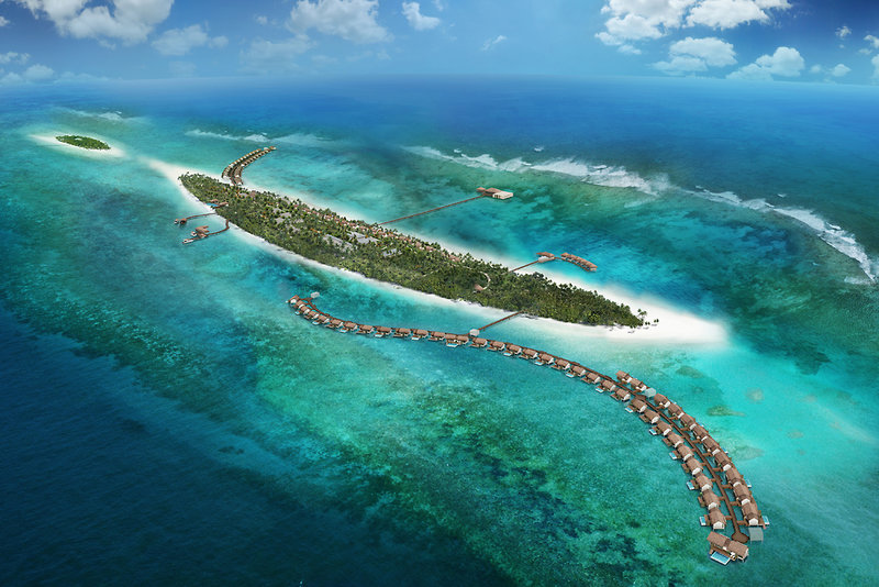 The Residence Maldives Landschaft